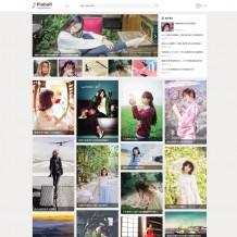 「寄售」ZBlog内核图片网站源码-主题OL瀑布流无限下拉展示图片主题