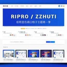 Ripro子主题logohe美化包修复版-WP虚拟资源模板ripro美化包下载