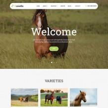 「亲测」畜牧养殖网站源码-响应式养马场养殖场畜牧类织梦模板下载