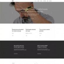 创意工作室/设计公司源码下载-WordPress模板Monni主题英文版