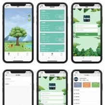 2020全新蚂蚁森林区块系统源码 疯狂森林自动挂机赚钱区块链系统