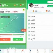 已测小清新币圈免公众号版源码+对接支付+推广K线正常+视频教程