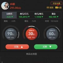 2020新版时间盘微盘源码/二开微交易源码 带免签支付+K线正常