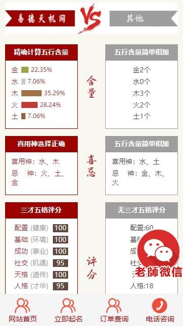 「亲测」周易八字取名系统-php在线付费宝宝起名网站源码-图3